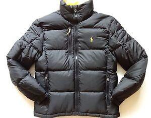 Polo Ralph Lauren Mens XL Puffer Down Core Trek Ski Jacket ...
