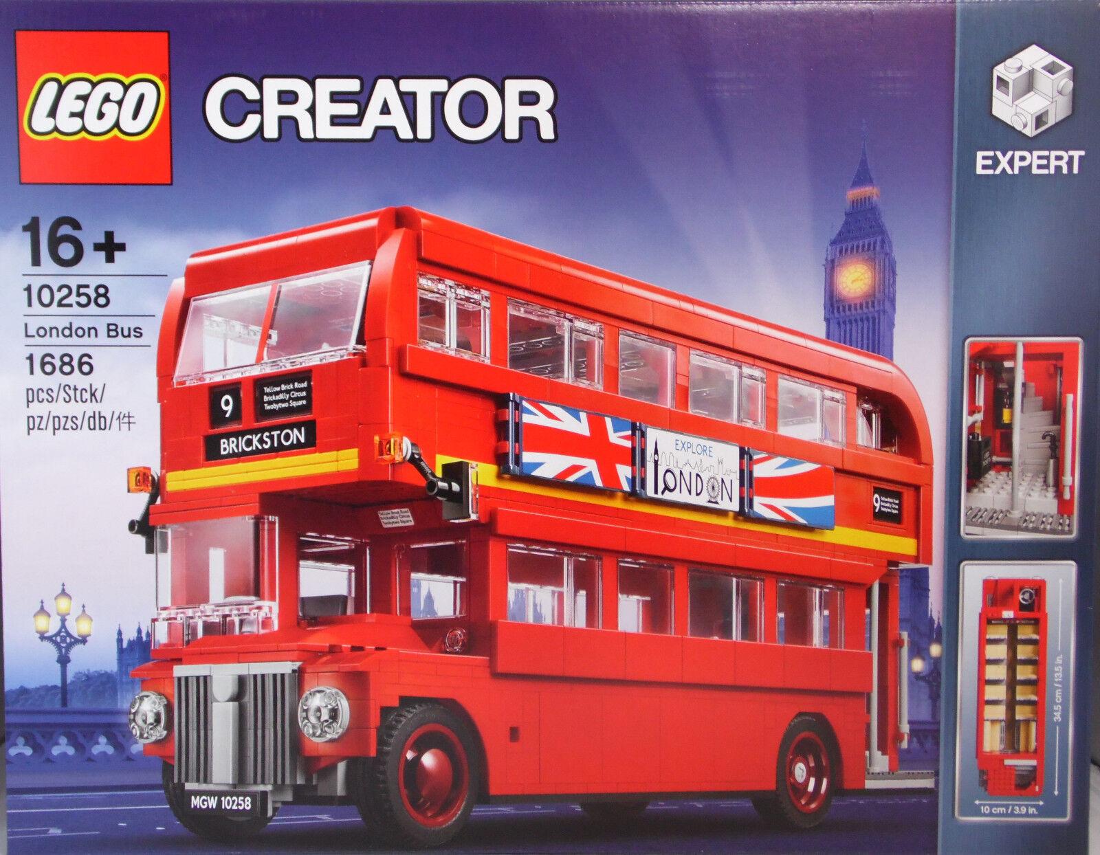 LEGO Skapare London 10258 Londoner buss Exkluv 1686 Teile NEU NY