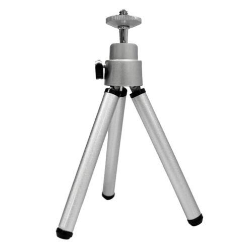 DHL Mini Flexible Projektor-Stativhalterung 360-Grad-Aluminiumlegierung Silber