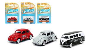 2020 Jada Punch Buggy Slug Bug Volkswagen VW T1 /& VW Beetle BN Set NEW