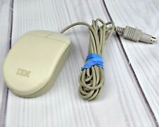 Vintage IBM Computer Mouse 2 Button wired Ball PS-2 Port PS2 Model 33G5430