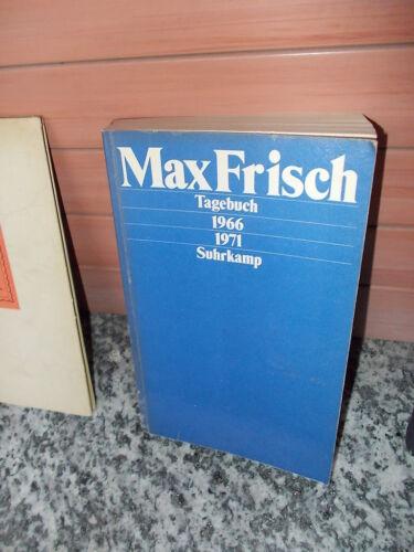 1 von 1 - Max Frisch, Tagebuch 1966 - 1971, aus dem Suhrkamp Verlag
