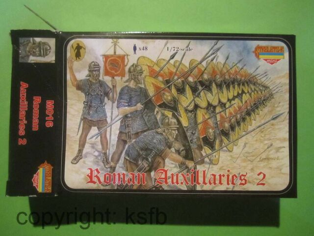 1:72 Strelets M016 Antike Römer römische Hilfstruppen roman auxiliaries Set 2