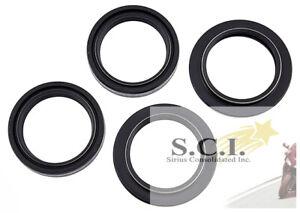 For Suzuki GSX750 F Katana 1989-2005 Fork Dust Wiper /& Oil Seal Kit Set Seals