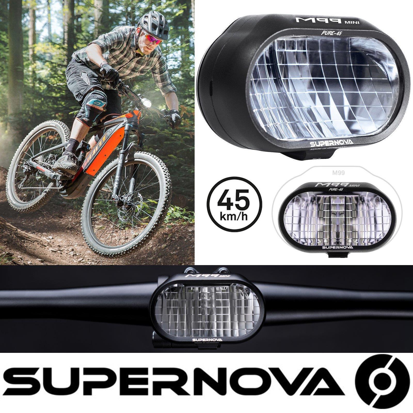 Supernova M99 Mini PURE-45 E-Bike Scheinwerfer LED Fahrrad  Licht 7,2W  general high quality