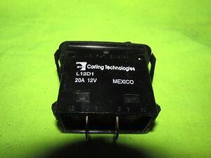 Carling-Tech-20a-12v-2-Broche-Interupt-Rocker-Interrupteur-Neuf-Momentane-Spring