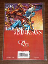 AMAZING SPIDERMAN #93 (534) VOL2 MARVEL SPIDEY CIVIL WAR SEPTEMBER 2006