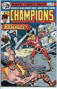 Champions-1975-series-5-very-fine-comic-book