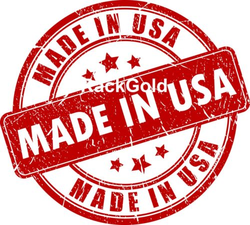 RackGold® 10-32 Cage Nut /& Screws w//Washers 100-Pack USA Made G1032-SPW-B10
