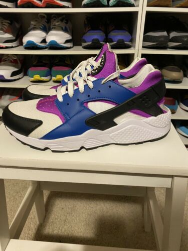 Nike Huarache Blue/Purple/ Black