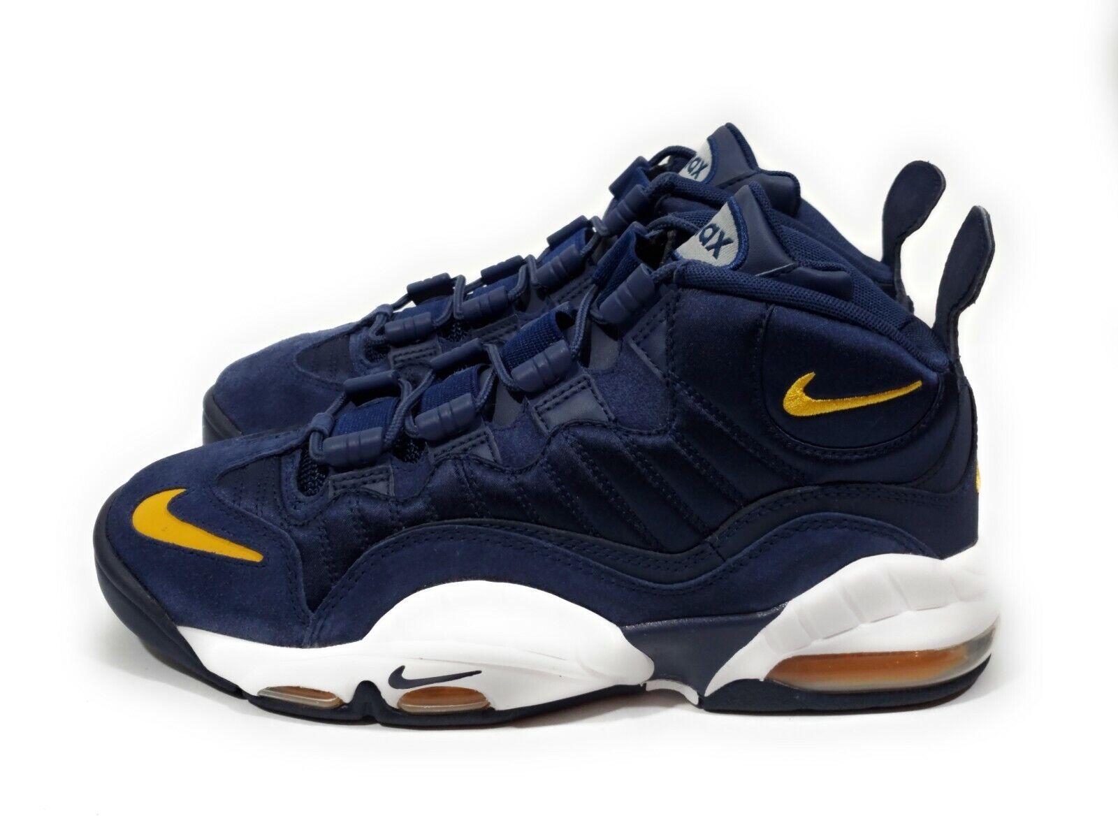 2e909ef0a967 Nike Air Max Sensation Fab Five Mens Mens Mens Basketball shoes Navy Size  7.5 b9fd4f