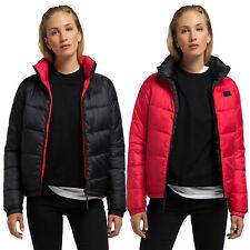 PYUA URBAN Damen Steppjacke Wendejacke Jacke schwarz rot Short Impulse