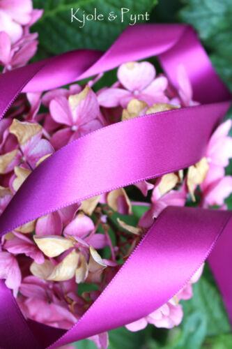 Satinband violett lila double face Satin 25mm Schleifenband Mabella 650 0,50€m