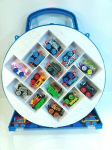 Full-Thomas-the-Train-and-Friends-Minis-Carrying-Case-with-16-engines