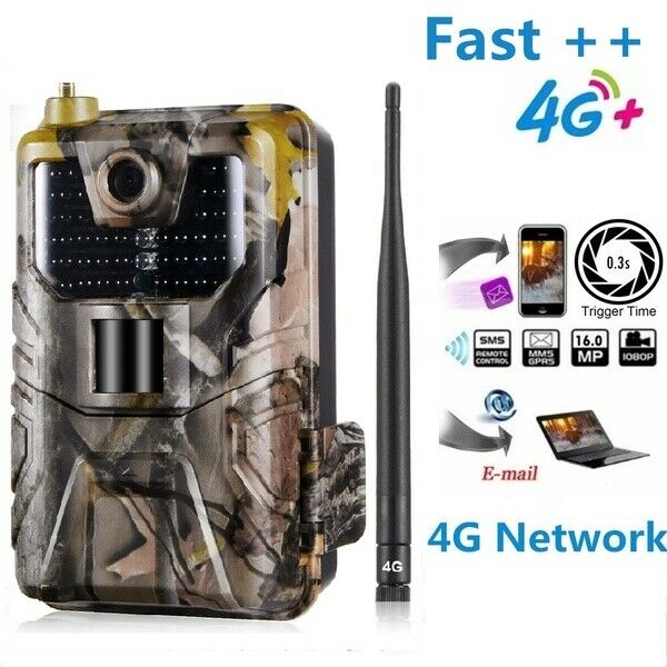 Hc-900lte  4G hunting Camera 16MP 12MP 8MP Trail Camera IP65 waterproof Camera  factory direct sales
