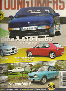 YOUNGTIMERS 22 ALPINE A610 TURBO BMW Z3 ROADSTER PEUGEOT 306 S16 AMI 8 FIAT 128