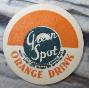 YODER DAIRIES VA VIRGINIA BEACH Milk Bottle Caps Fruit Punch Green Spot