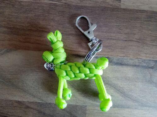 PARACORD DOG KEY RINGS 2 PACK.