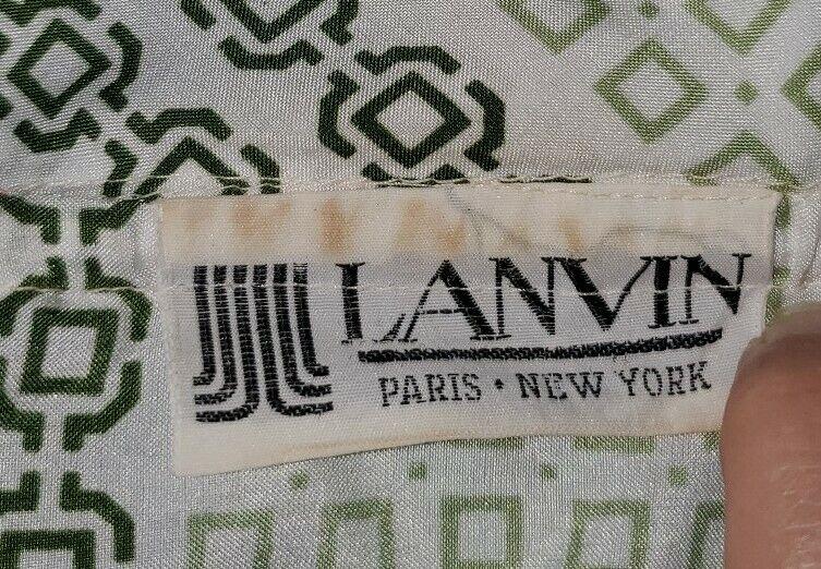 Vintage 70s Lanvin Dress Paris - image 4