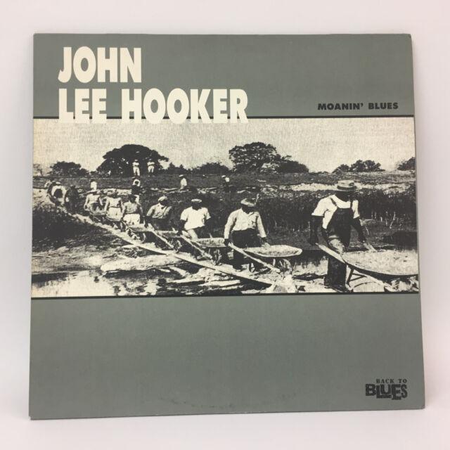 John Lee Hooker - Moanin´ Blues   Eurostar 1990   LP: Near Mint   Cleaned Vinyl