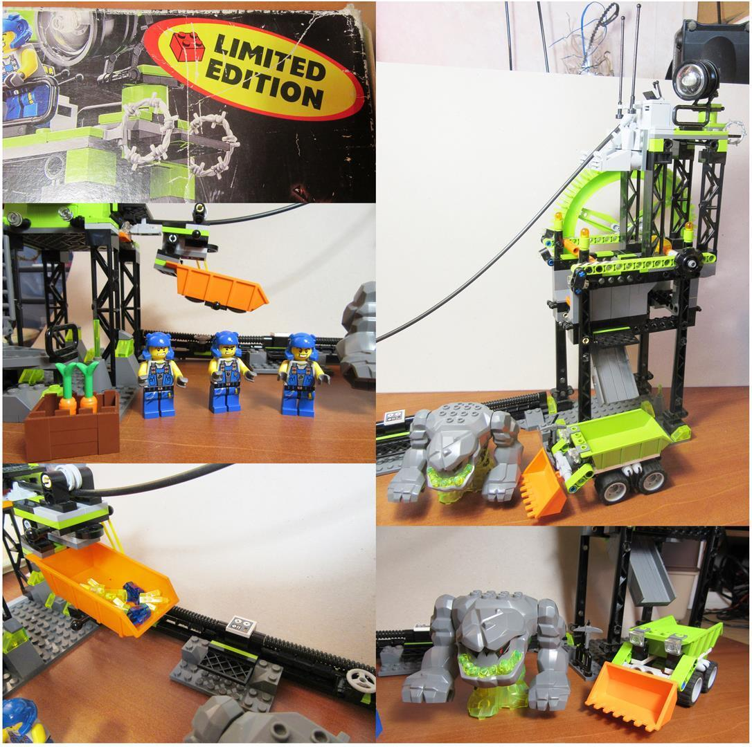 LEGO POWER MINERS Boite 8709 EDITION LIMITEE UCS
