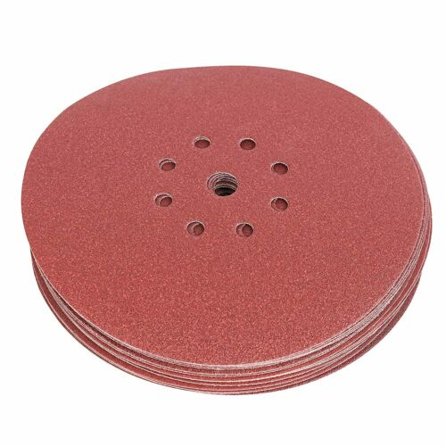 Meules velcro 225 mm p40-p240 8 Trous Perforées