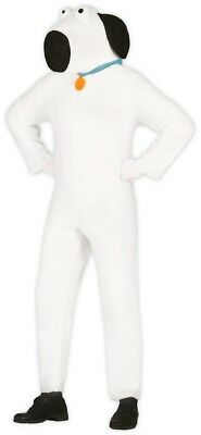 Mens Brian Dog Animal Stag Do Night Party Funny TV Fancy Dress Costume Outfit