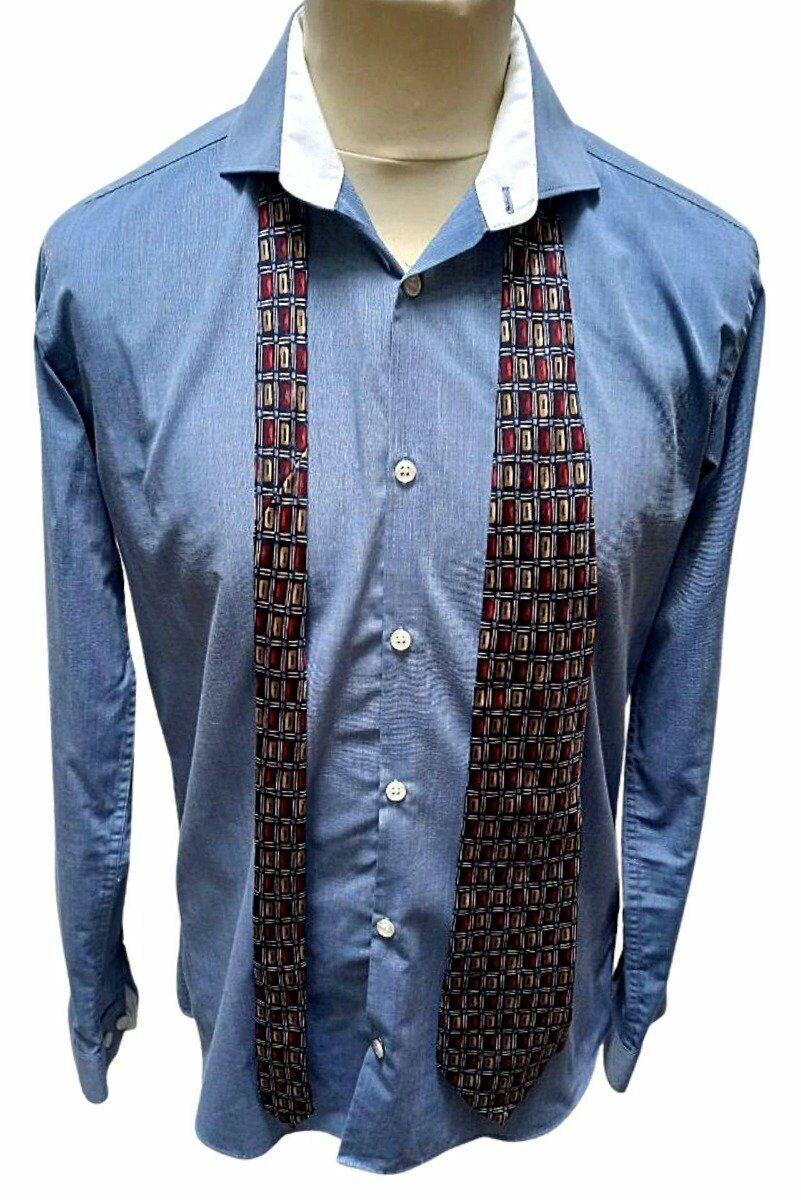 Jonelle Silk Patterned Tie - One Size