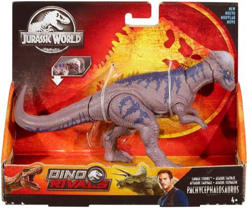 Jurassic World Dino Rivaux Savage Strike-Pachycephalosaurus Jurassic Park NEUF