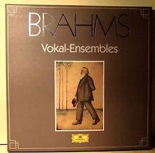 5 LP BOX SET Johannes Brahms  Vokal-Ensembles- Duette Und Quartette- Vocal Duet
