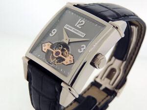 Girard-Perregaux-Vintage-Tourbillon-Automatisch-9985-18k-Weiss-Gold-K-Lnib