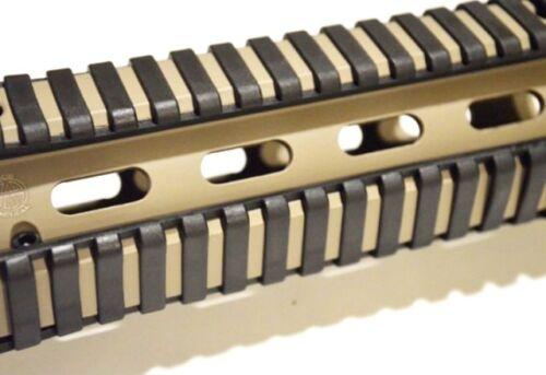 "4 Heat Resistant Soft Grip Picatinny Ladder Rail Cover /""Black/"" 18 Slots Each"