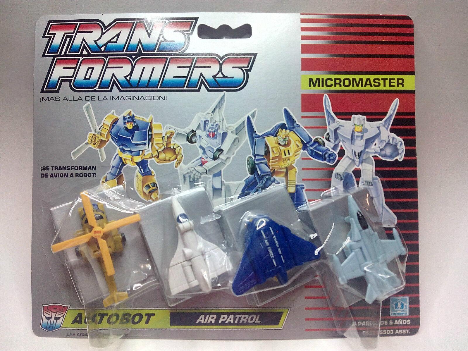 TRANSFORMERS Micromaster - Autobot- AIR PATROL   NUEVO A ESTRENAR