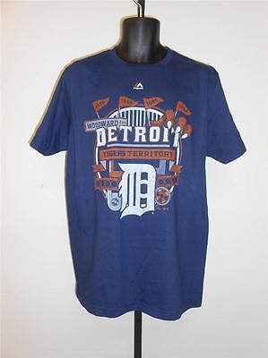 Neu Detroit Tigers Herren L Groß Von Majestätisch Triple Peak T-shirt 62ln Top Wassermelonen Weitere Ballsportarten