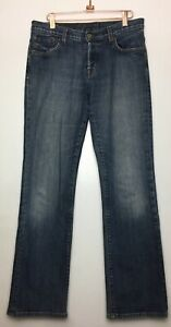 LUCKY-BRAND-Easy-Rider-Jeans-Women-s-Size-8-29-Regular-Button-Fly-Embroidered