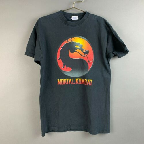 Vintage 90's Mortal Kombat Video Game Tee T-Shirt
