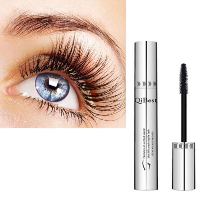 Waterproof 3D Natural Fiber Lash Mascara Beauty Long Curling Eyelash Extension