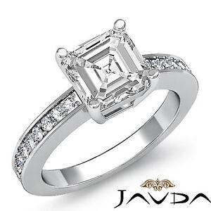 Asscher-Forma-Preprogramado-Anillo-de-Compromiso-Diamante-GIA-G-VS2-14k-Oro