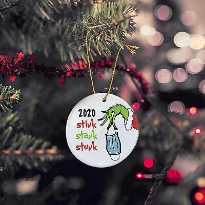 2020 Stink Stank Stunk Ornament Grinch Christmas Funny Ornament Tree Decor Ebay