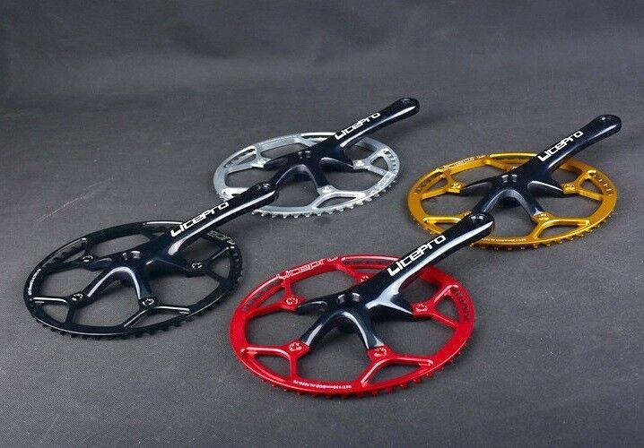 Litepro MTB Folding Road Bike 170mm Crankset Chainring 45 47 53 56 58T w  bolts