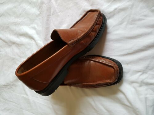 0102ef6dd4 MENS STERLING AND Hunt Brown Slip On Shoes Size 8 - £18.99