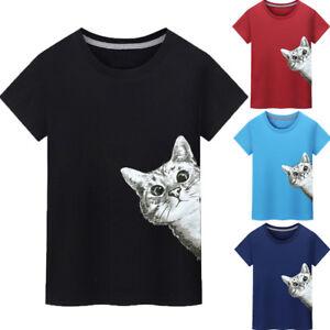 Maenner-Drucken-T-Shirt-Sommer-Bluse-Tops-Kurzarm-T-Shirt-Ubergroesse-Tops
