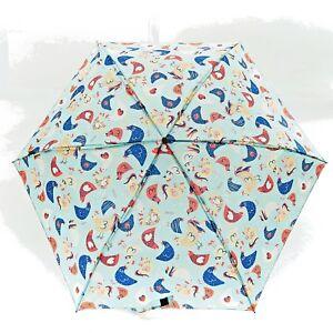 Pollo Gallina Ombrello Mini ombrello pieghevole leggero borsetta gli amanti degli animali