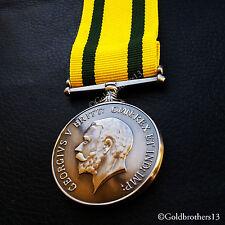 Territorial Force War Medal Territorial Army Nursing Service TF WW1 British Copy