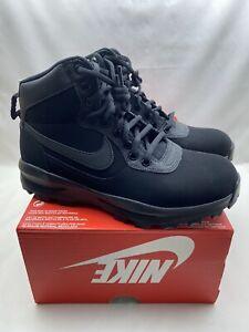 Nike-Manoadome-Triple-Black-Men-039-s-Size-9-Hiking-Trail-Work-Boots-844358-003-NEW