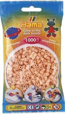 Hingebungsvoll Hama BÜgelperlen 1000 StÜck Leuchtrot 5 Mm Bügelperlen Perlen