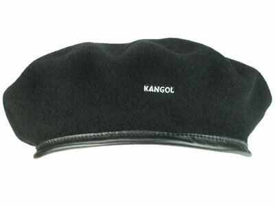 Kangol Monty Anglobasque Baskenmütze HUT Beret Wollbaske Baske  Barett blau