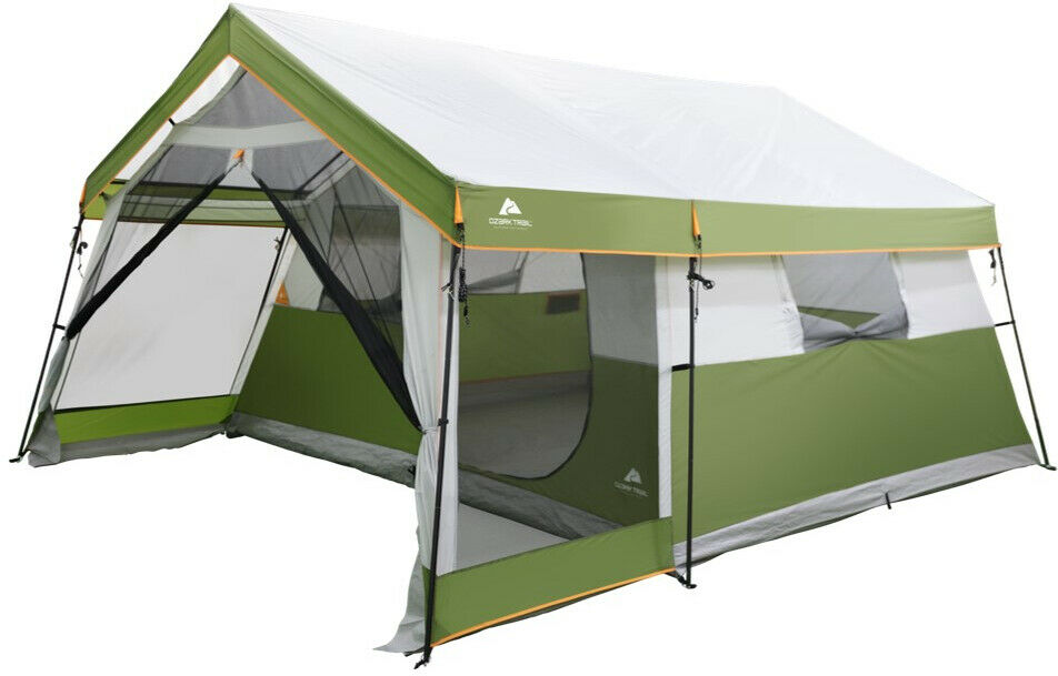 8Person Family Cabin Tent W Screen Porch  autory borsa all'aperto Hire Shelter