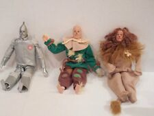 MATTEL Barbie WIZARD OF OZ Dolls KEN As TIN MAN COWARDLY LION & SCARECROW