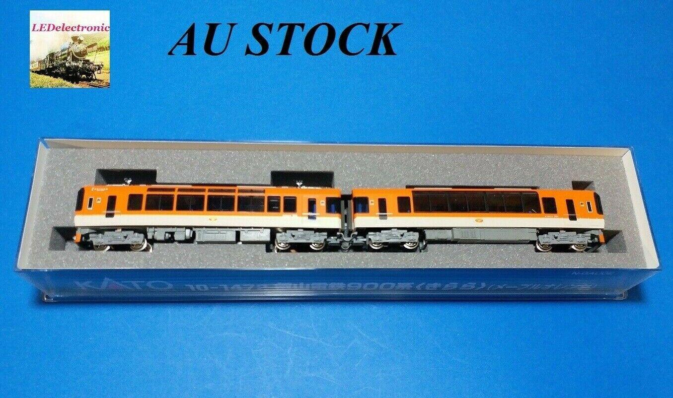 Kato 101472 Kyoto Eizan Railway 900 Type Kirara Maple arancia Version, 2auto set